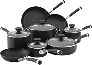 Circulon Acclaim Hard-Anodized Nonstick 13-Piece Cookware Set (Renewed)