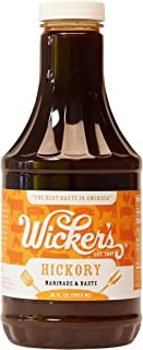 Wickers Sauce Hickory Flavor Marinade & Baste Bbq, 24-ounce