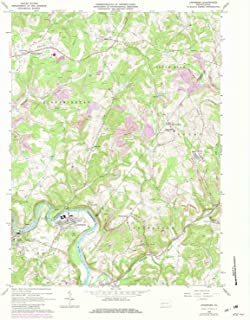 YellowMaps Avonmore PA topo map, 1:24000 Scale, 7.5 X 7.5 Minute, Historical, 1964, Updated 1982, 27 x 22.1 in