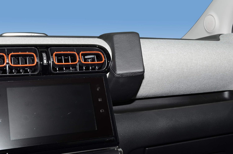 Kuda 3230 Real Leather Phone Console For Citroen C3 Elektronik