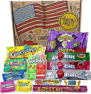 comprar comparacion Heavenly Sweets Dulces Veganos Americanos - Selección de Golosinas de EE.UU. - Regalo de Navidad, Cumpleaños, San Valentín...
