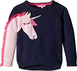 Novelty Sleeve Sweater (Toddler/Little Kids)