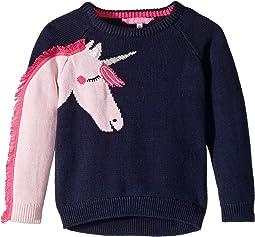 Novelty Sleeve Sweater (Toddler/Little Kids)