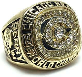 Chicago Bears Super Bowl XX 1985 Ring sz 11 William Perry