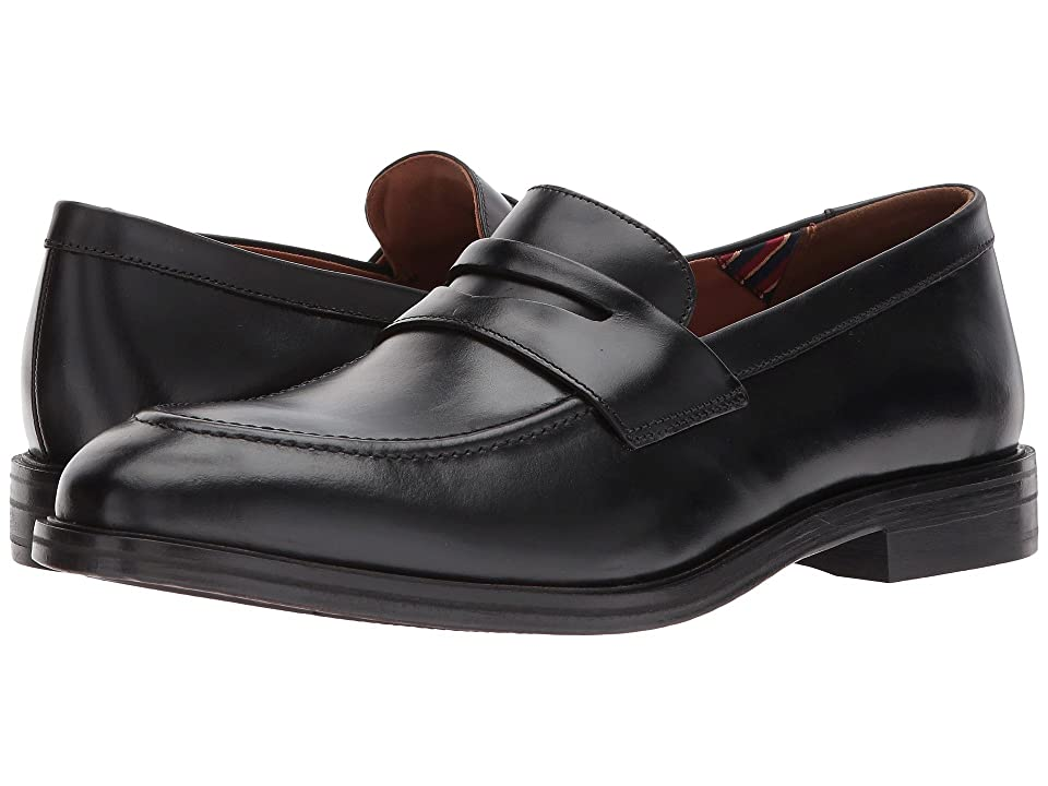 Bostonian Mckewen Step (Black Leather) Men