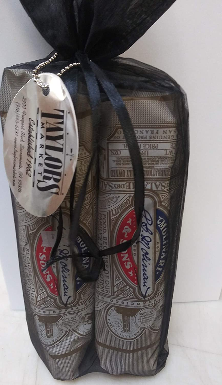 Recommended Taylors Market 2 Pack New Orleans Mall Molinari Salami Dry 12o Italian Gift