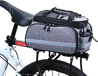 comprar comparacion WILDKEN Bolsa Alforja Trasera Bicicleta Impermeable Bolso de Asiento Trasero para Viaje Portátil Extensible Bolsa de Hombr...