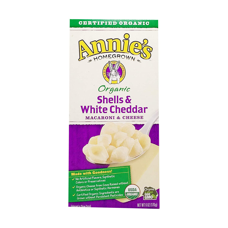 Annie's Homegrown Organic Macaroni Cheese Che - White Shells Max 67% Under blast sales OFF