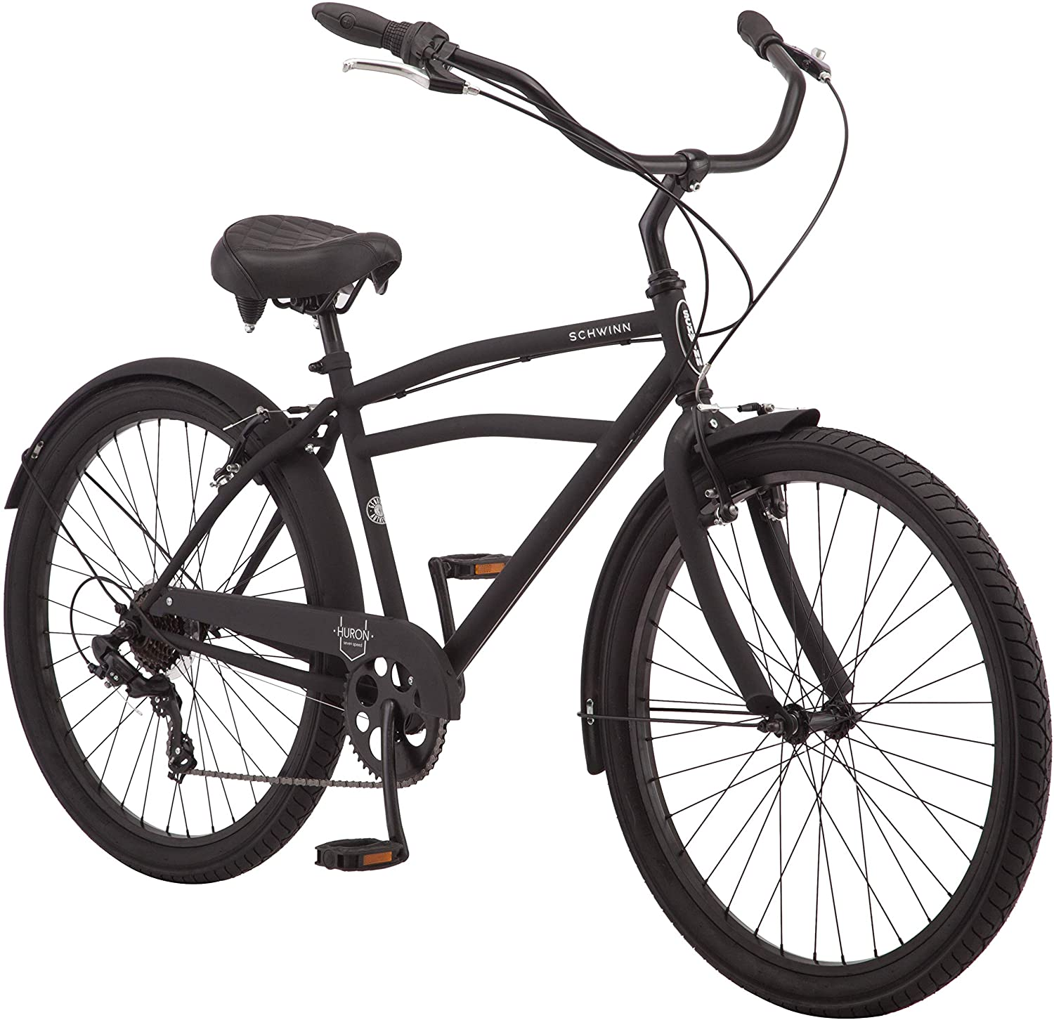 schwinn huron and mikko cruiser hybrid bike