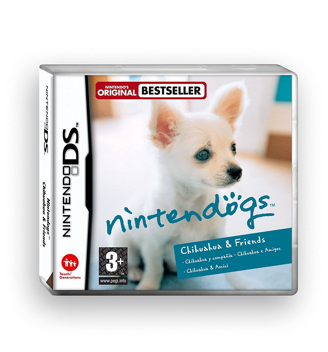 Nintendogs Chihuahua Inventory Max 57% OFF cleanup selling sale Friends