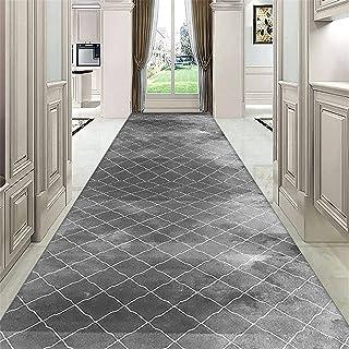 TONGQU Tapis de Passage Antidérapant pour Couloir, Géométriques Long Coureurs de Tapis Moderne Tapis de Cuisine pour Escal...