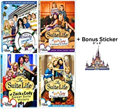 The Suite Life of Zack & Cody & Wizards on Deck DVD Collection with Bonus Sticker