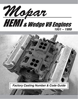 Mopar HEMI and Wedge V8 Factory Casting Number and Code Guide 1951-99 (MSA-1)