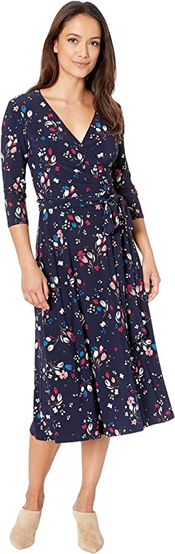 Petite Carlyn Mineola Floral Day Dress