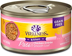 Wellness Complete Health Natural Grain Free Wet Canned Cat Food Pate Recipe Kitten Chicken  Pate