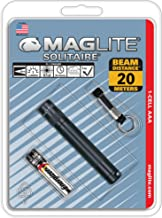 Mag-Lite Solitaire mini-zaklamp, zwart, 8 cm