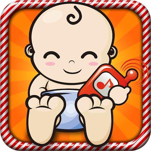 Jeu de téléphone pour bébé - Le premier téléphone des tout petits avec de nombreuses comptines, des effets sonores et des animations amusantes