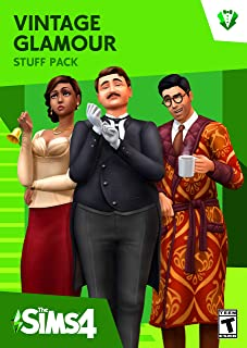 The Sims 4 Vintage Glamour Stuff [Online Game Code]