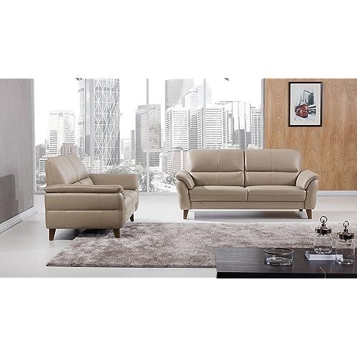 Incredible Italian Leather Sofas Amazon Com Dailytribune Chair Design For Home Dailytribuneorg