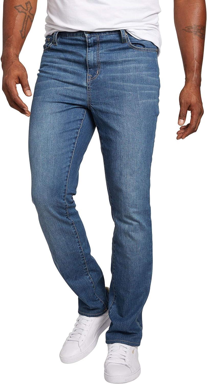 Liberty Blues Men's Big & Tall Straight-Fit Stretch 5-Pocket Jeans