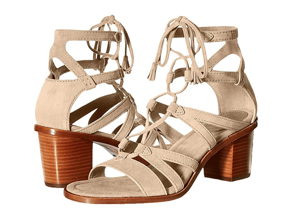 Frye Brielle Gladiator (Grey Suede) High Heels