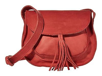 ABLE Maria Tassel Crossbody (Brick Red) Shoulder Handbags