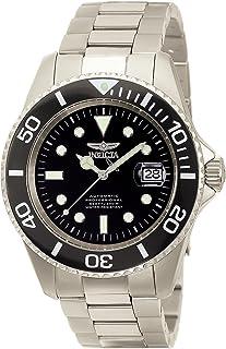 Invicta 0420 Watch Men's Pro Diver Automatic Black Dial Titanium
