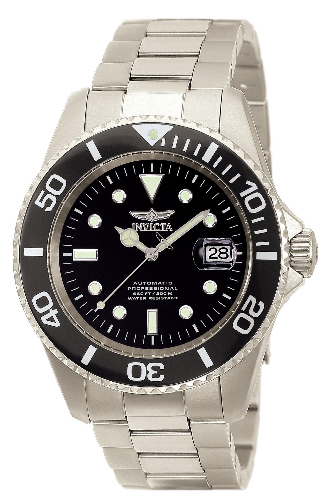 Invicta 0420 Diver Automatic Titanium