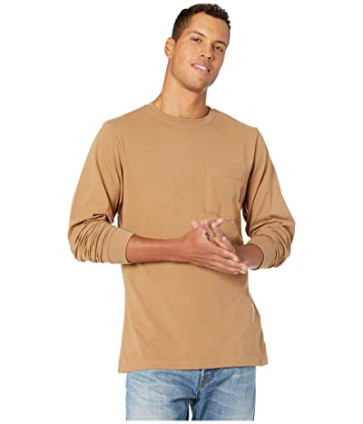 Timberland PRO Base Plate Blended Long Sleeve T-Shirt (Dark Wheat) Men