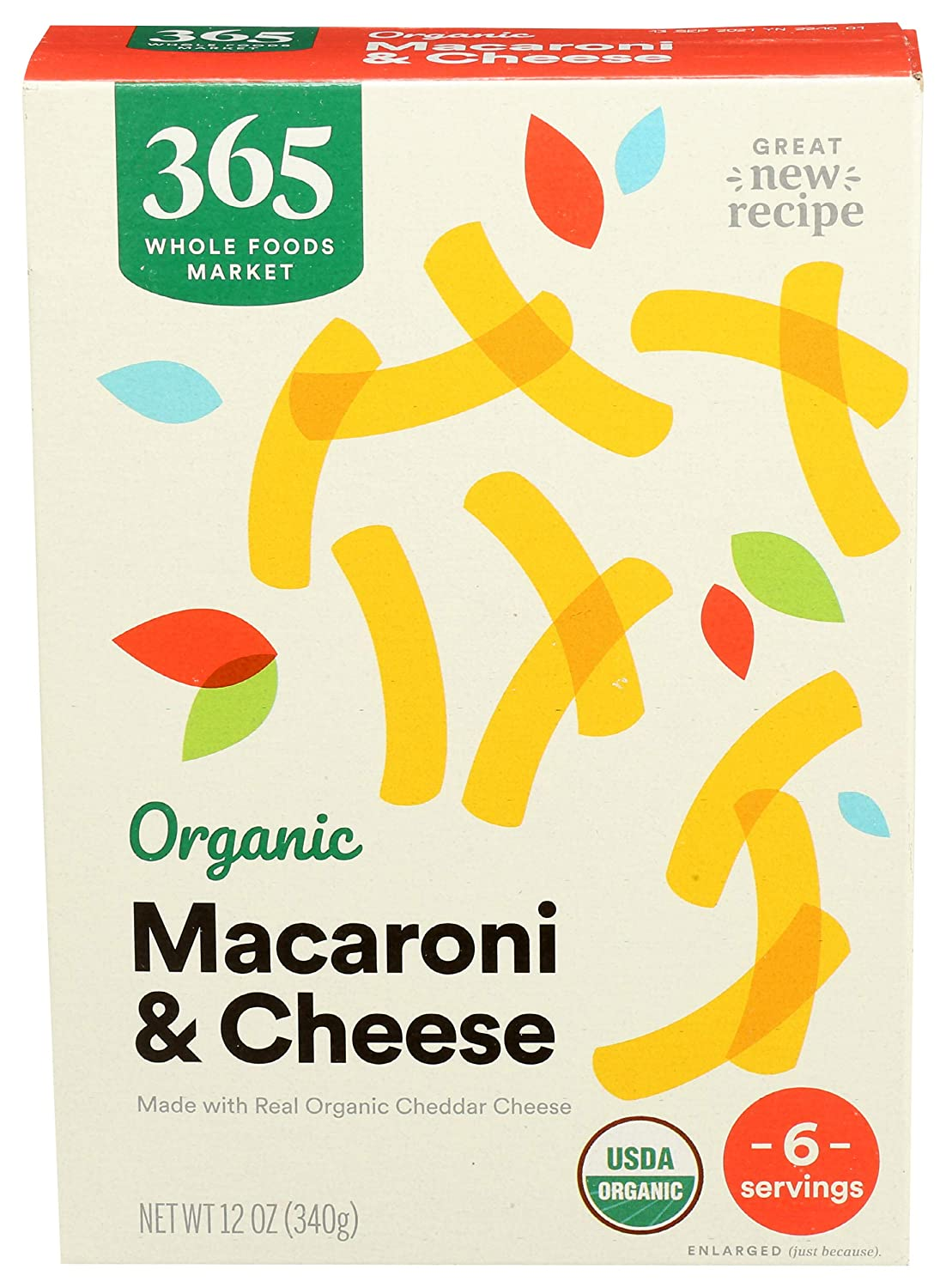 365 by Whole Foods Market Macaroni Sale price Organ New Orleans Mall Size Cheese Family And