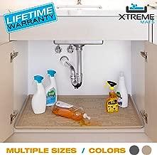 Xtreme Mats Under Sink Bathroom Cabinet Mat, 21 5/8 x 18 7/8, Beige