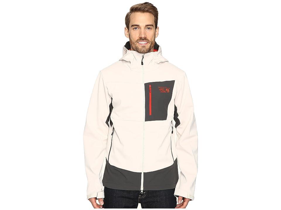 Mountain Hardwear Dragontm Hooded Jacket (Stone) Men