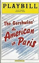 an american in paris playbill