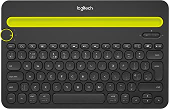 Logitech Bluetooth Multi-Device Keyboard K480 – Black – works with Windows  and Mac..