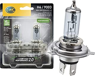 HELLA 2.0TB HP2.0-60/55W High Performance 9003 Bulbs, 12V, 60/55W, 2 Pack