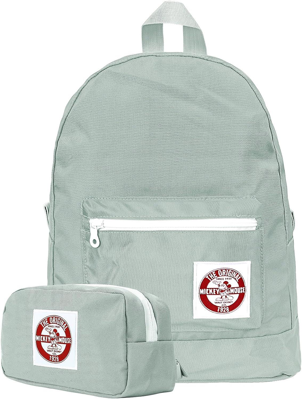 Ililily Solid Farbe Mickey Maus Flicken Mini Rucksack Schule Rucksack Tasche B07DWNWFKT | Lass unsere Waren in die Welt gehen