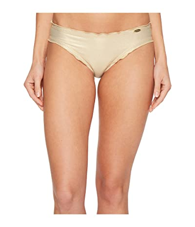 Luli Fama Cosita Buena Wavey Full Bikini Bottom (Gold Rush) Women