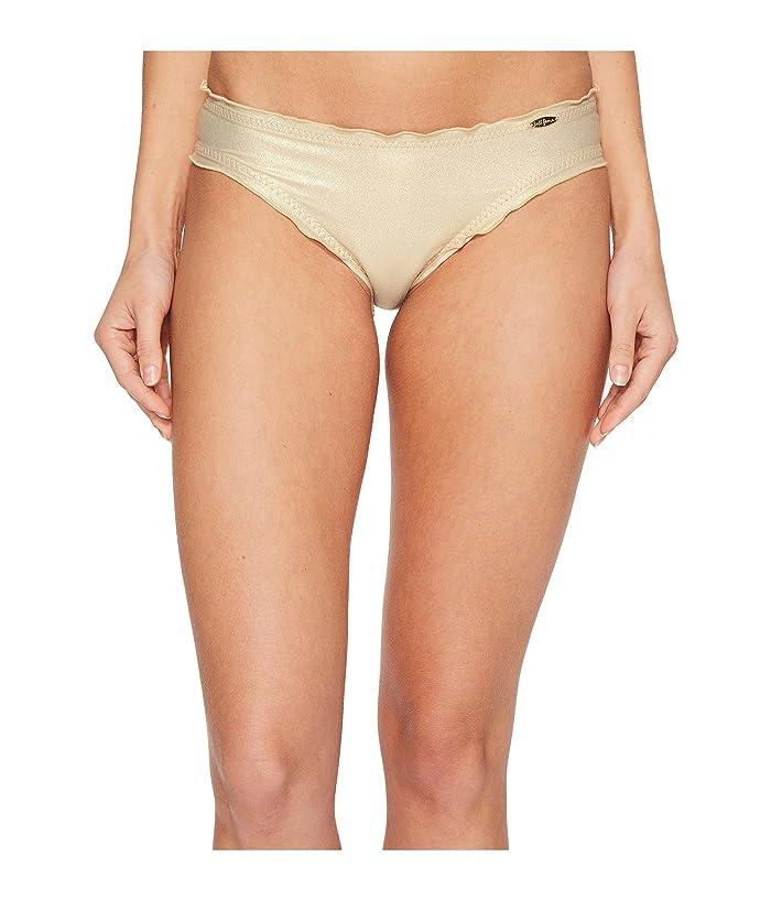 Luli Fama Cosita Buena Wavey Full Bikini Bottom (Gold Rush) Women