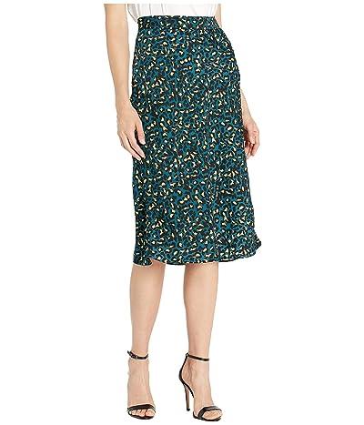 BCBGeneration Midi Skirt TJQ3234732 (Teal) Women