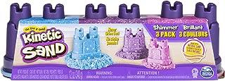 Kinetic Sand Shimmering Sand Multi-Pack w/ Molds Standard