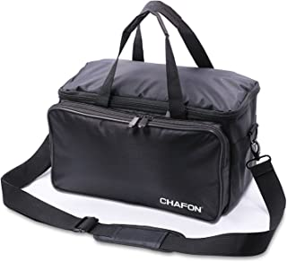 CHAFON Foldable Tool Bag for Portable Generator and Outdoor Camping, Traveling, Storage-Black