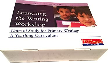 Complete set UNITS OF STUDY FOR PRIMARY WRITING: A YEARLONG CURRICULUM: Conferring Handbook, Nuts and Bolts of Teaching Writing, CD-rom, 7 books: Launching Workshop, Small Moments, Writing for Readers, Revision, Authors as Mentors, Nonfiction, Poetry