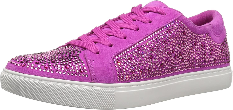 Kenneth Cole New York Womens Swarovski Crystal Studded Sneaker- Techni-Cole 37.5 Lining Sneaker