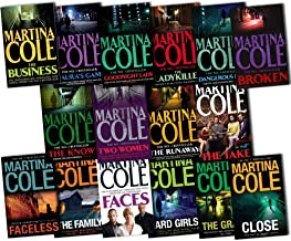 Martina Cole 16 Books Collection Pack Set RRP: £130.65 (The Take, The Know, Broken, Faceless, Mauras Game, Close, The Busi...