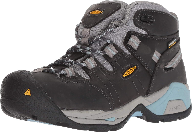 KEEN Utility Women's Detroit XT Mid Soft Toe Waterproof Work Boot