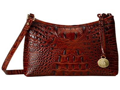 Brahmin Melbourne Anytime Mini (Pecan) Shoulder Handbags