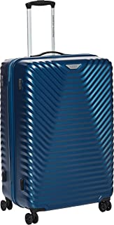 American Tourister SkyCove Hardside Spinner Luggage 79cm with tsa lock - Blue
