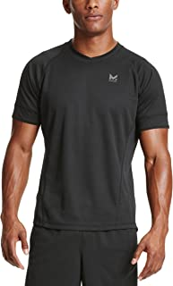 Mission Men's VaporActive Proton Short Sleeve Running T-Shirt, Moonless Night, X-Large