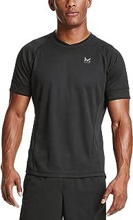 Mission Men's VaporActive Proton Short Sleeve Running T-Shirt, Moonless Night, X-Large