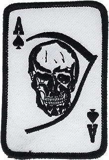 Ace of Spades Death Card Skull and Scythe 4